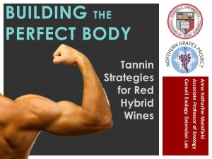 tannin webinar first slide
